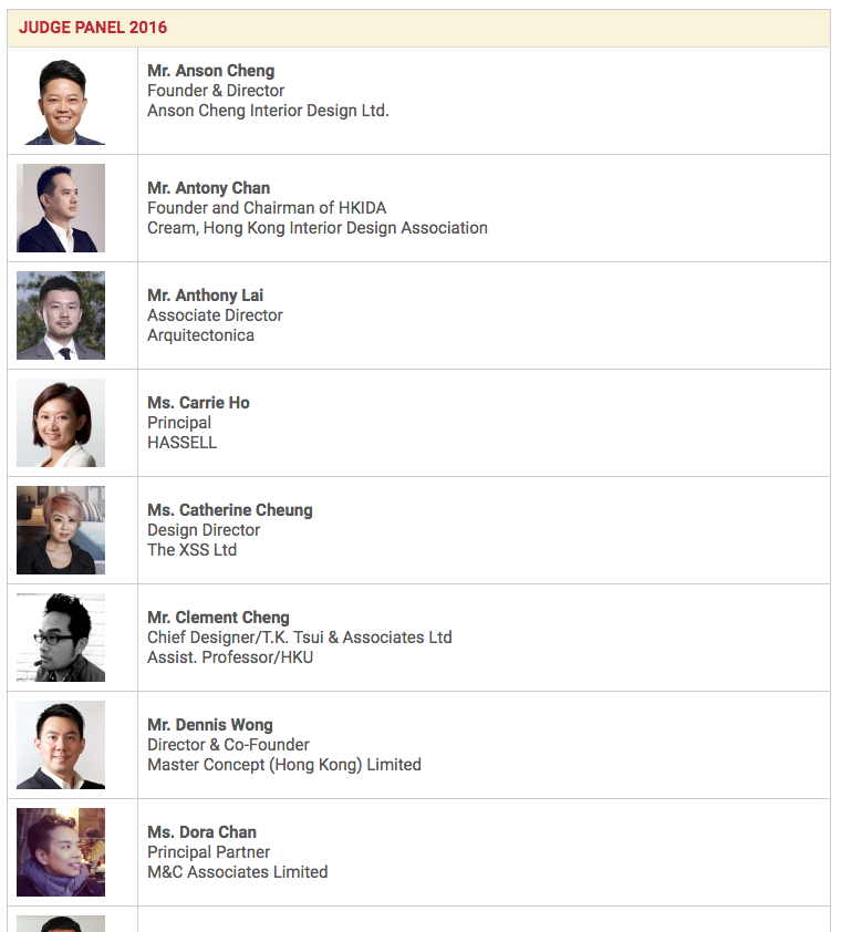 Hong kong restaurant interior design awards hkrida
